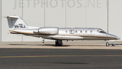 VH-VLJ - Bombardier Learjet 35A - JV Aviation Management