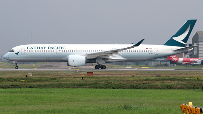 A picture of BLQA - Airbus A350941 - Cathay Pacific - © M. Raykahn Ariga