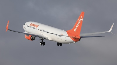 A picture of CFWGH - Boeing 73786J - Sunwing Airlines - © Hongyu Wang