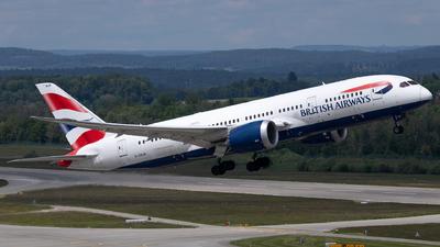 A picture of GZBJB - Boeing 7878 Dreamliner - British Airways - © Joel Basler
