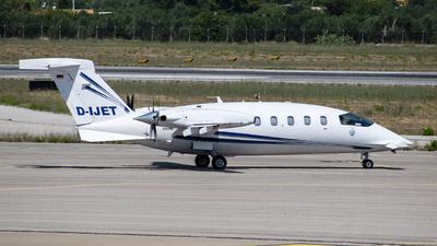 A picture of DIJET - Piaggio P180 Avanti - AirGO Private Airline - © Denny Lillo - Plane Spotters Bari