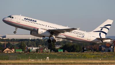 SX-DVI - Airbus A320-232 - Aegean Airlines