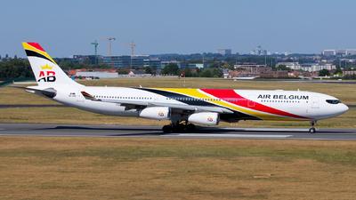 A picture of OOABD - Airbus A340313 - Air Belgium - © Kris Van Craenenbroeck