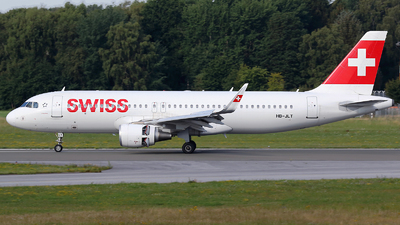 A picture of HBJLT - Airbus A320214 - Swiss - © Kay Hansen
