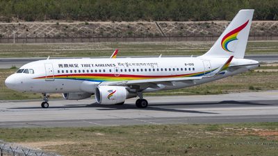 A picture of B1010 - Airbus A319115 - Tibet Airlines - © Eric Wang