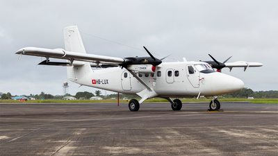 A picture of HBLUX - Viking DHC6400 Twin Otter - Zimex Aviation - © Faragh Djoemai