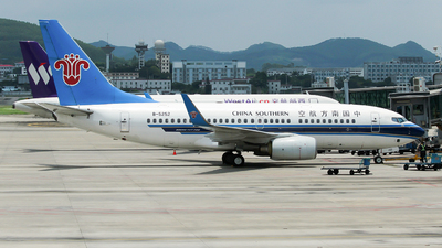 B-5252 - Boeing 737-71B - China Southern Airlines