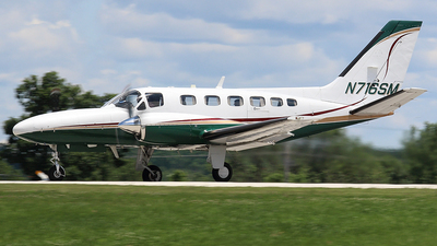 A picture of N716SM - Cessna 441 Conquest - [4410004] - © Joe Osciak