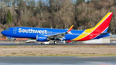 A picture of N1784B - Boeing 737 flight test - Boeing - © SpotterPowwwiii
