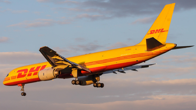 A picture of GBIKO - Boeing 757236(SF) - DHL - © Lorenzo Varin - AirTeamImages