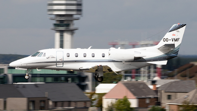 OO-VMF - Cessna 560XL Citation XLS Plus - Air Service Liège (ASL)