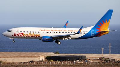 A picture of GJZHU - Boeing 7378MG - Jet2 - © Román A. Pérez