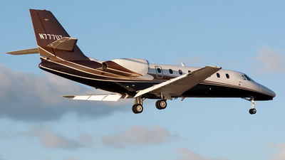 N777UT - Cessna 680 Citation Sovereign - Private