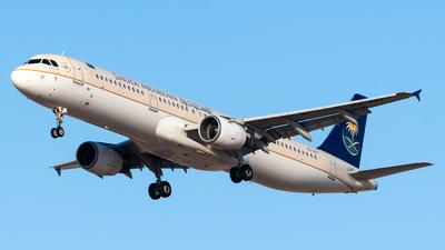 HZ-AST - Airbus A321-231 - Saudi Arabian Airlines