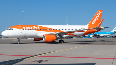A picture of GEZWU - Airbus A320214 - easyJet - © James Dinsdale