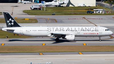 C-GITU - Airbus A321-211 - Air Canada