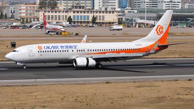 B-5573 - Boeing 737-8HO - OKAIR