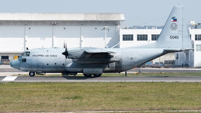 5040 - Lockheed C-130T Hercules - Philippines - Air Force