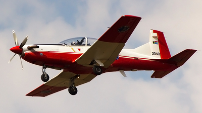 2040 - Pilatus PC-7 Mk.II - South Africa - Air Force