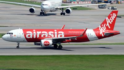 9M-AGT - Airbus A320-216 - AirAsia