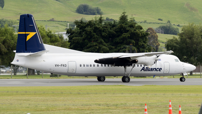 VH-FKO - Fokker 50 - Alliance Airlines