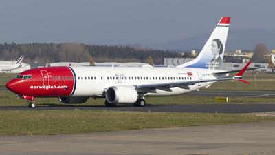 EI-FYF - Boeing 737-8 MAX - Norwegian