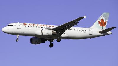 C-FTJO - Airbus A320-211 - Air Canada