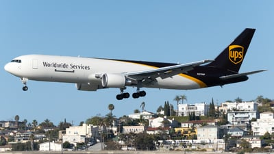 A picture of N375UP - Boeing 767300F(ER) - UPS Airlines - © global_flyer1