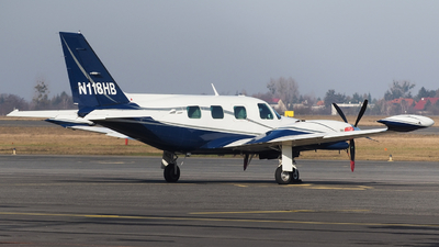 N118HB - Piper PA-31T1 Cheyenne I - Private