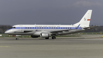 SP-LIE - Embraer 170-200LR - LOT Polish Airlines