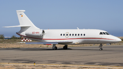 EC-HYI - Dassault Falcon 2000 - Gestair Private Jets