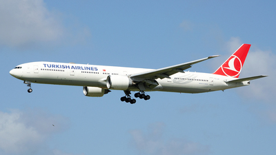 A picture of TCJJP - Boeing 7773F2(ER) - Turkish Airlines - © Paul Stam