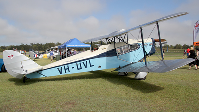 VH-UVL - De Havilland DH-83 Fox Moth - Private