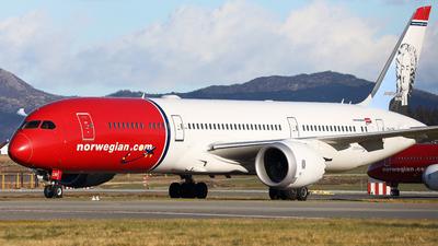 A picture of LNLNV - Boeing 7879 Dreamliner - Norwegian - © R.Rimestad