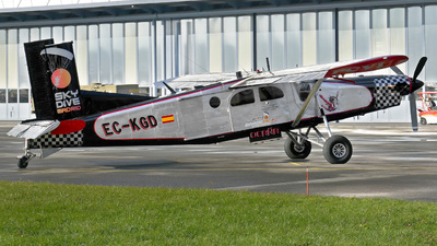 EC-KGD - Pilatus PC-6/B2-H4 Turbo Porter - Private