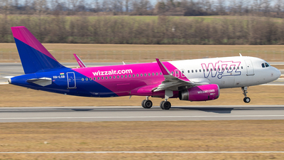 HA-LSB - Airbus A320-232 - Wizz Air