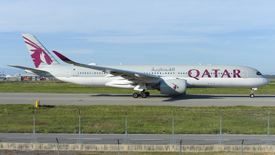 A7-ALK - Airbus A350-941 - Qatar Airways