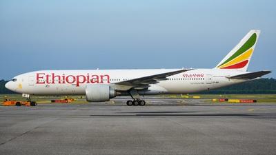 ET-ANP - Boeing 777-260LR - Ethiopian Airlines