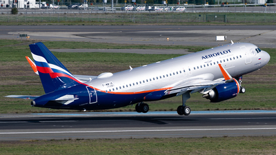 F-WWIK - Airbus A320-251N - Aeroflot