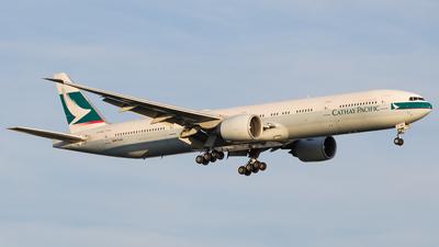 B-KQS - Boeing 777-367ER - Cathay Pacific Airways