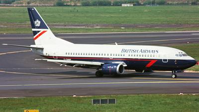 G-CMMP - Boeing 737-3L9 - British Airways