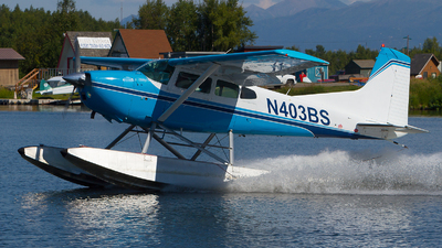 N403BS - Cessna A185F Skywagon - Private