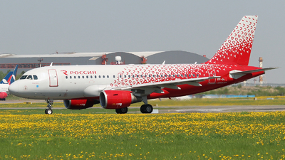 VP-BWJ - Airbus A319-111 - Rossiya Airlines