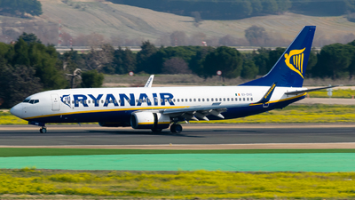 EI-DHS - Boeing 737-8AS - Ryanair