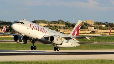 A7-AHU - Airbus A320-232 - Qatar Airways