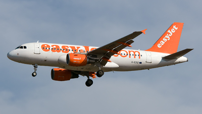G-EZIZ - Airbus A319-111 - easyJet