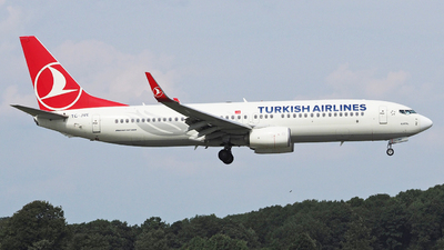 TC-JVE - Boeing 737-8F2 - Turkish Airlines