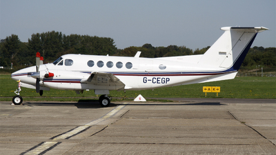 A picture of GCEGP - Beech B200 Super King Air - [BB726] - © Hawkwind