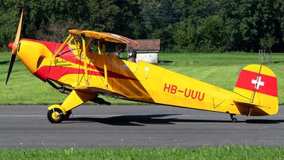 HB-UUU - Bücker 131APM Jungmann - Private