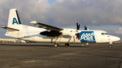 SE-LFS - Fokker 50(F)(LFD) - Amapola Flyg